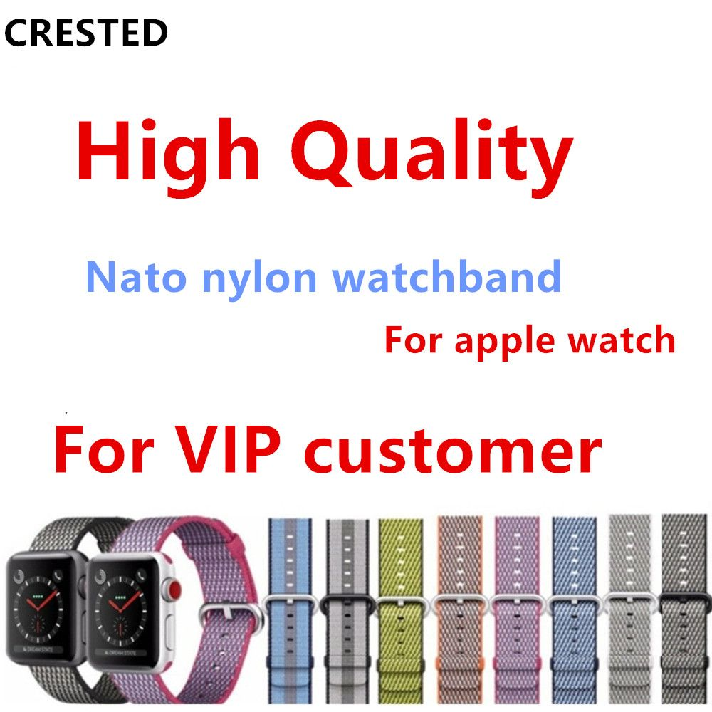 nato Strap For Apple Watch band 4 42mm/38mm 3 iwatch band 44mm 40mm correa Woven Nylon band