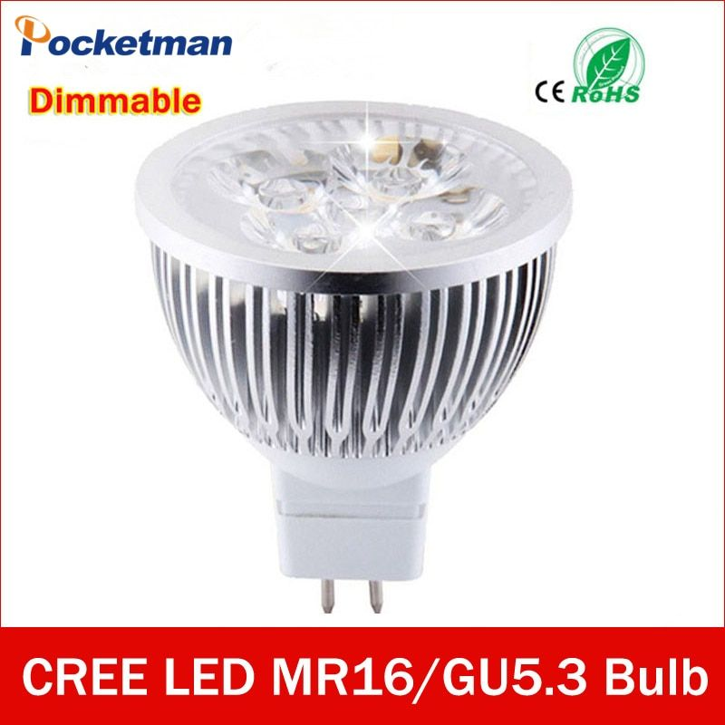 High lumen MR16 - GU5.3 LED spot light lamp 12V 220V 110V 3W 4W 5W LED Spotlight Bulb Lamp GU 5.3 led bulb light