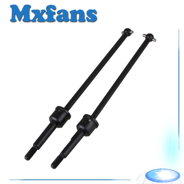 Mxfans 2 x 188015 Iron Universal Shaft Drive Joint RC 1:10 for HSP