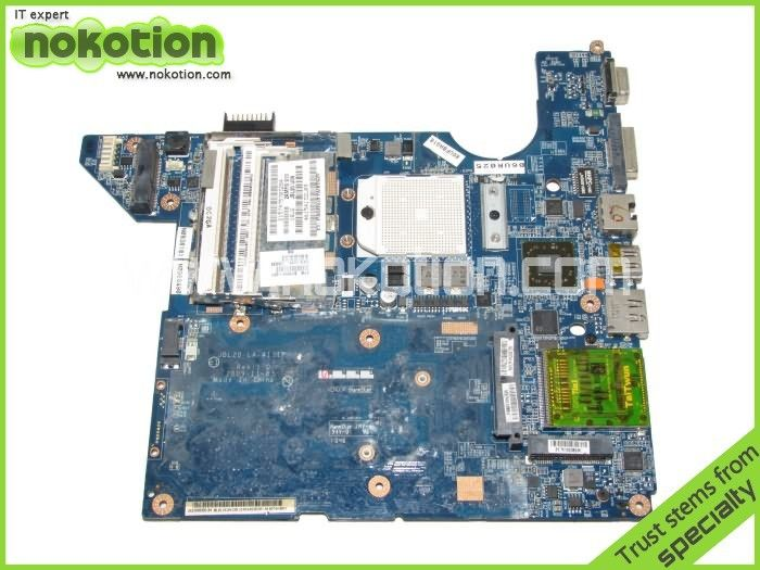 NOKOTION 511858-001 For HP DV4 motherboard  DDR2 Socket s1 LA-4111P  with cpu