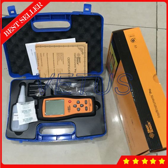 AS860 Aluminum Ultrasonic thickness gauge With 1.0-300mm(steel) Measuring range Plate Steel Thickness measuring instrument