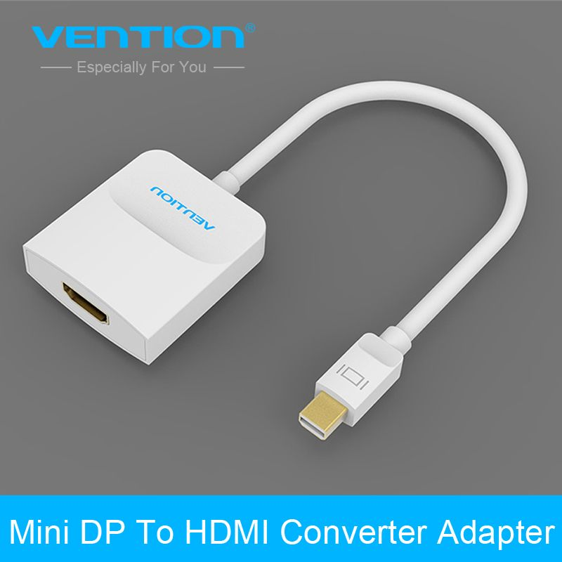 Vention High Quality Mini Displayport DP To HDMI Converter Adapter Cable for PC Macbook 1080P HDTV Projector