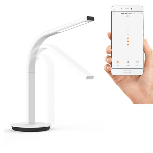 Original Xiaomi Mijia Smart DeskLamp LED Light Table Lamp 2nd DeskLamp Desklight 4000K 10W Dual light IOS Android APP Control