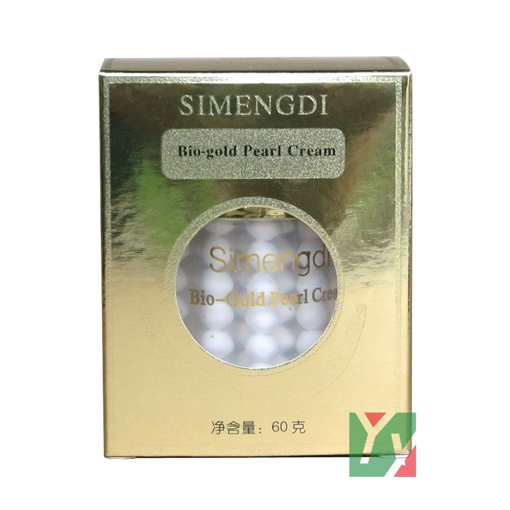 10 pcs/lot Skin Care SIMENGDI  Bio-Gold Pearl Cream 60g/pcs whitening cream anti-aging cream