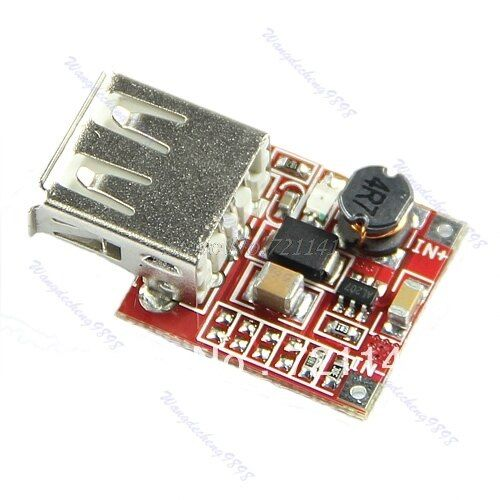 DC DC Converter Step Up Boost Module 3V To 5V 1A USB Charger For MP3 MP4 Phone