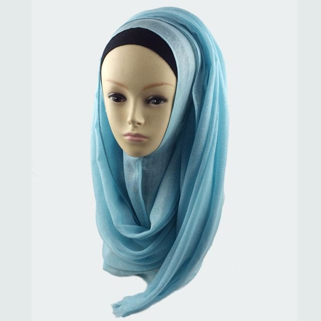 muslim hijab shimmer scarf hijabs shiny scarves shimmering shawl , Can Choose Colors,Free Shipping PHMG001