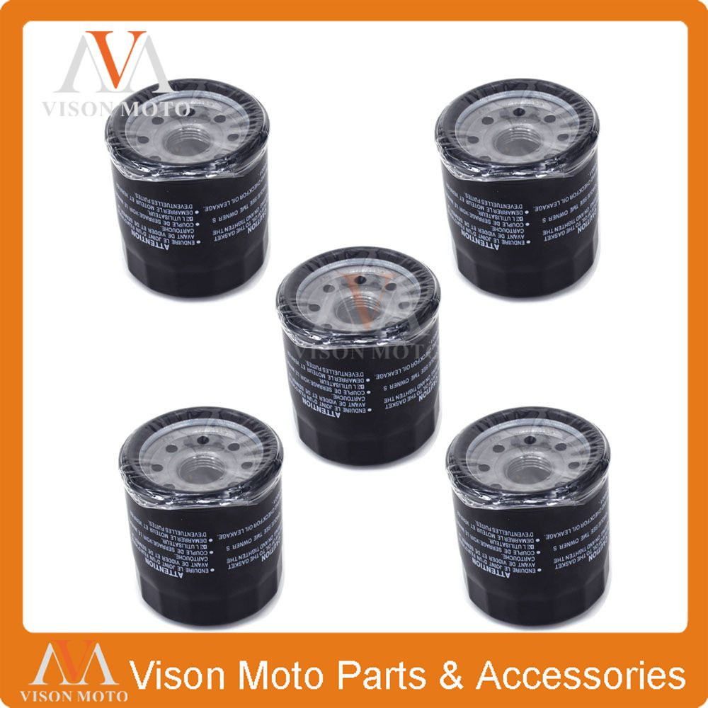5PCS Motorcycle Oil Filter Cleaner For YAMAHA FZR1000 FZS1000 GTS1000 1000 YZF-R1 YZF R1 YZFR1 YZF1000 VMX1200 VMX 1200 XVZ13