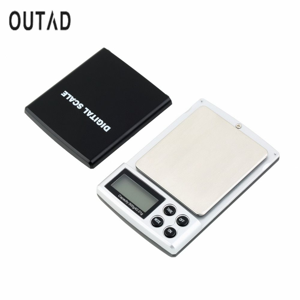 Hot Sale Auto Power off 500g x 0.01g Digital Pocket Scale Jewelry Weight Balance Scale Precision Dropshipping Wholesale