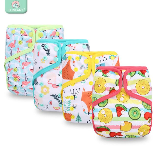 Elinfant  girl&boy cloth baby diaper cover pul waterproof adjustable resuable fit 8-35pounds popular baby cloth diaper cover