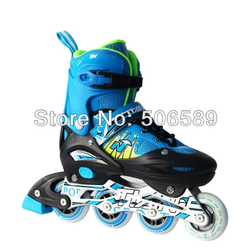 free shipping adjustable roller skates with helmet protectors for children and adults flashing wheel