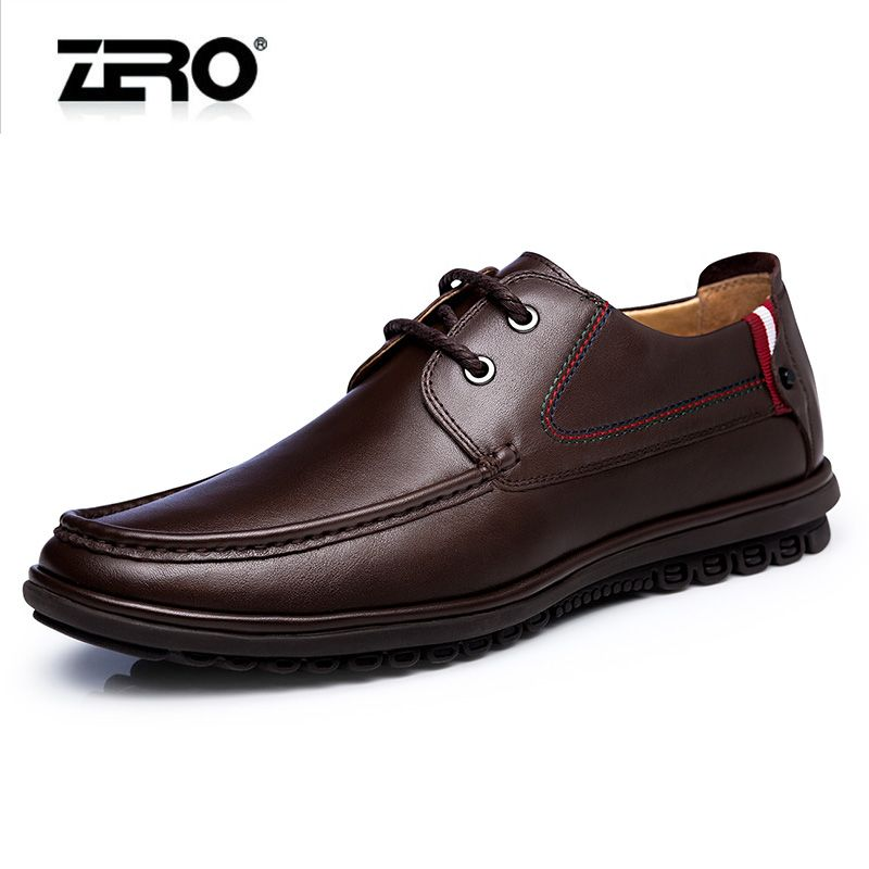 Hot Sale Men's Leather Shoes Men's Dress Derby Shoes Genuine Leather Flats Business Mans Footwear Fashion Free Shipping