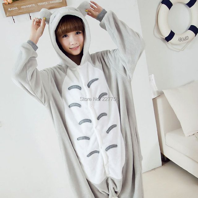 Pijama Women Pyjama Pajamas Chinchilla Shape Adults' All In One Cosplay Suit Party Costum Cartoon Garment Sleepwear Home Wear