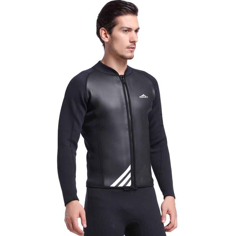 SBART Diving Suit 2MM Neoprene Wetsuit Men Long Sleeve Full Swimwear Keep Warm Winter Water Sports Swim Surfing Wetsuits L1017