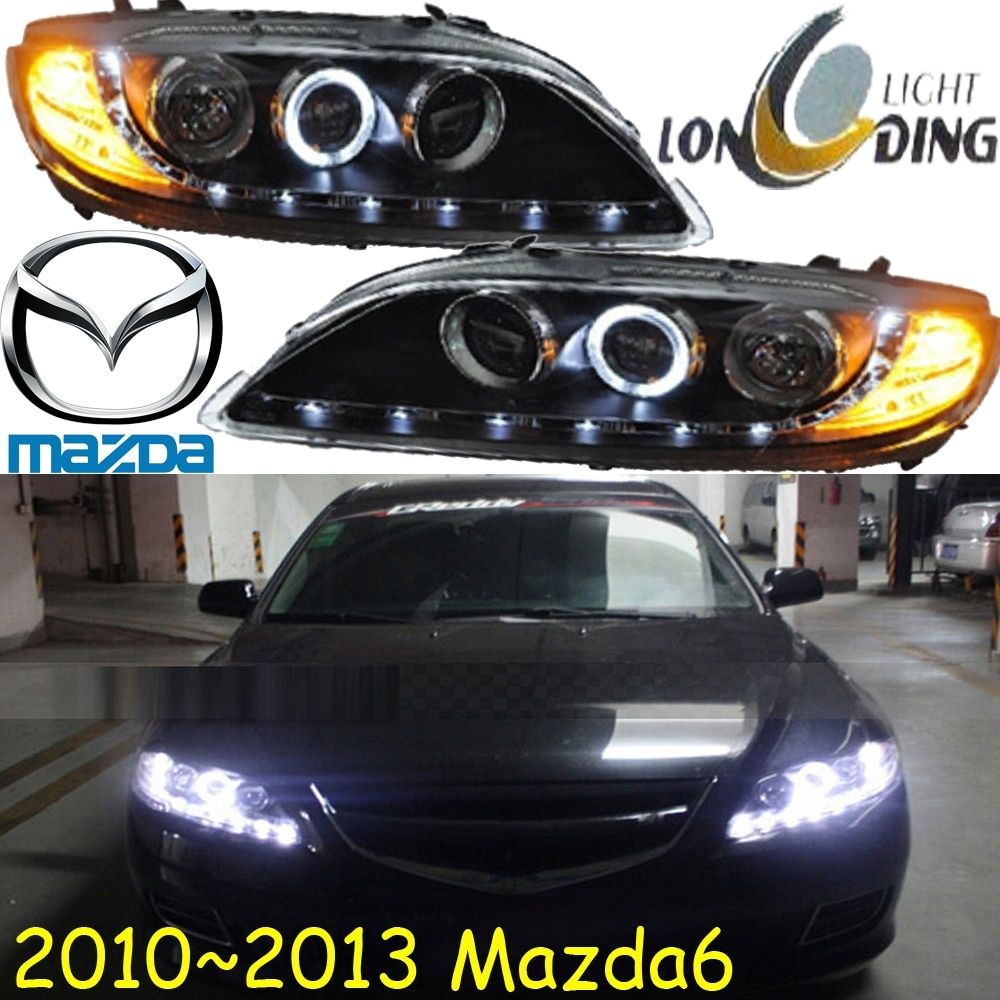 Mazd6 headlight,2004~2012,Free ship! MAZD6 fog light,Tribute,RX-7,RX-8,Protege,MX-3,Miata,CX-3,CX-5