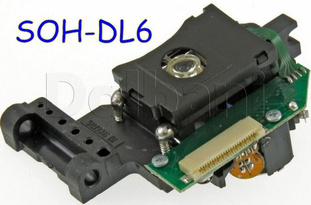 Brand New SOH-DL6FS SOH-DL6 SOH-DL6F Laser Lens Lasereinheit  Optical Pick-ups Bloc Optique