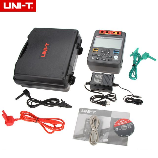 UNI-T UT513 Digital Insulation Resistance Tester Test Meter Megger 1M-1000G Ohm 5000V & USB Interface