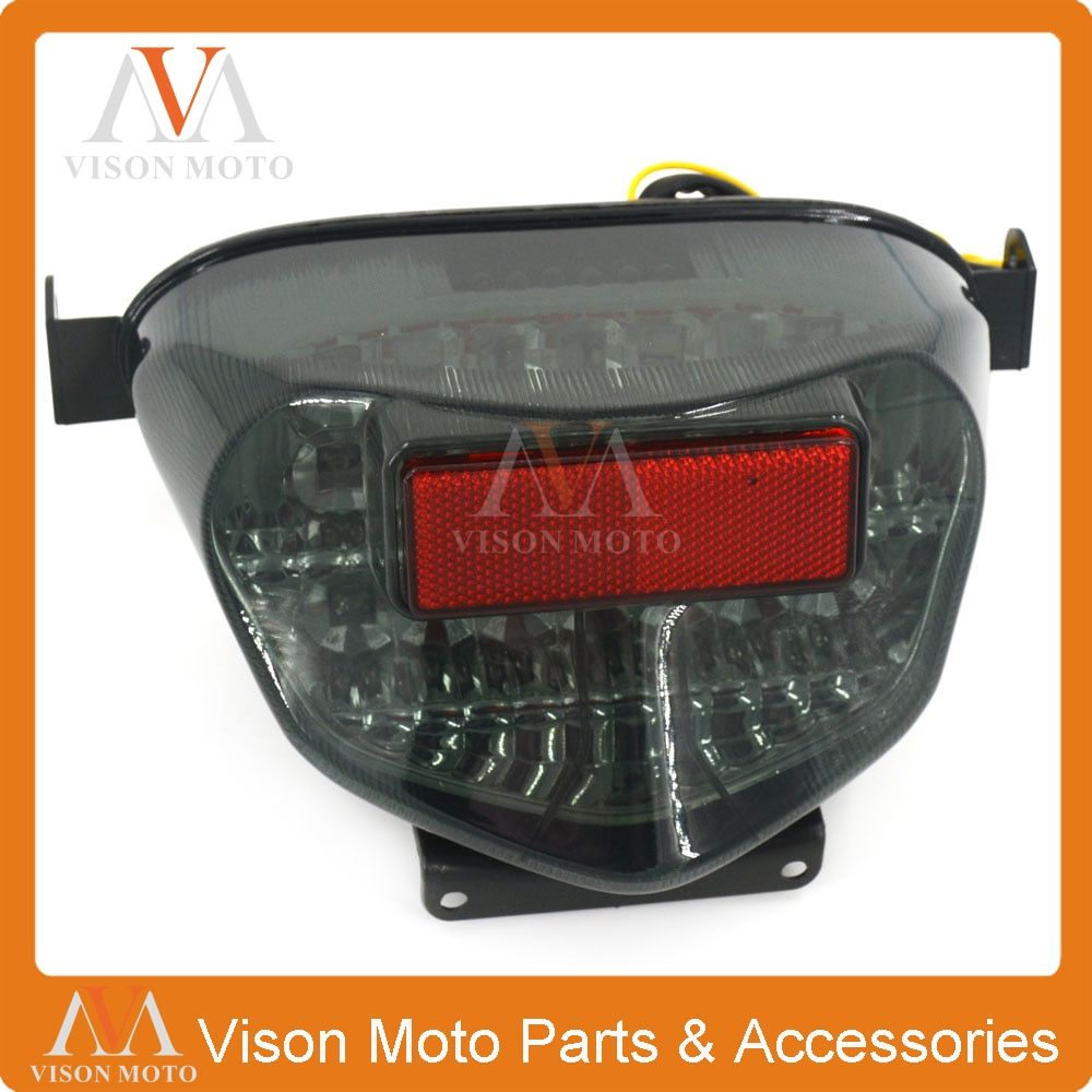 Motorcycle Rear Tail Light Brake Signals Led Integrated Lamp Light For SUZUKI GSXR600 GSXR750 00 01 02 03 GSXR1000 K1 2000 2001