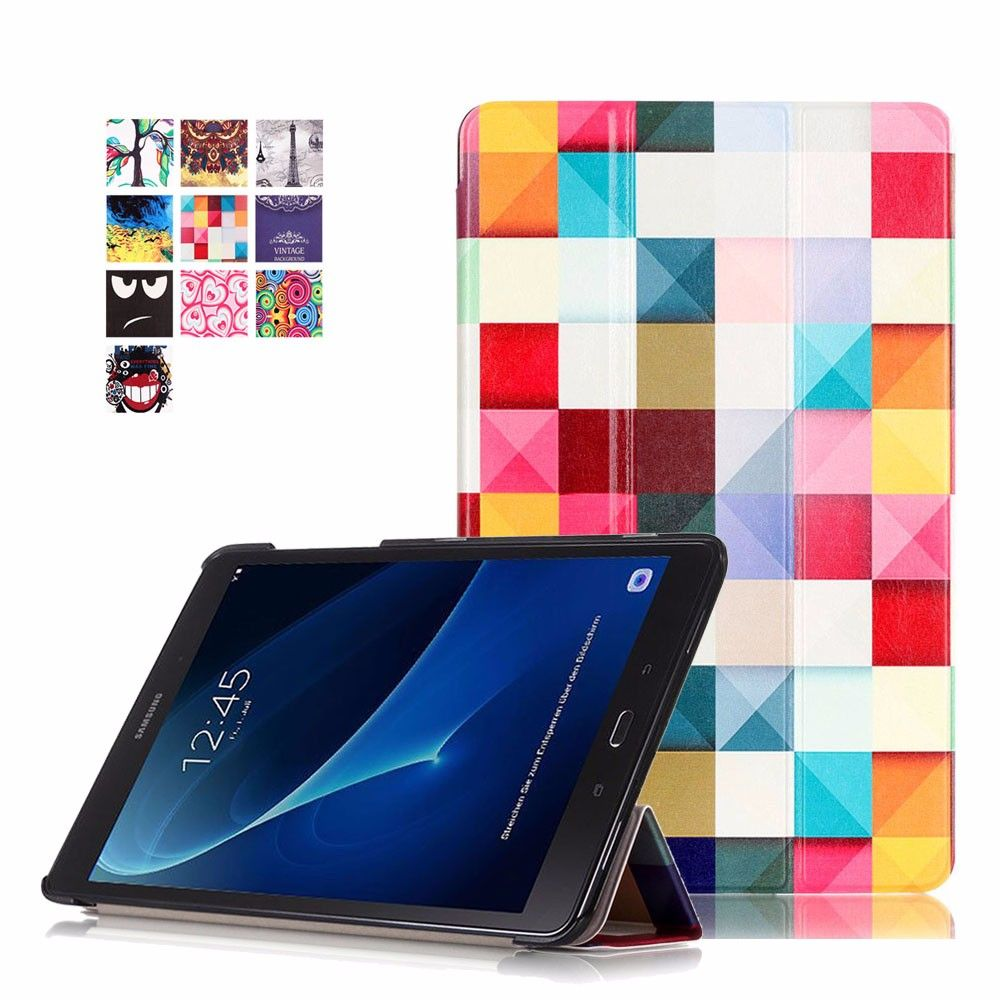 stand cover for Samsung Galaxy Tab A T580 10.1 T585 SM-T580 T580N funda tablet case for samsung galaxy tab a 10.1 SM-T580
