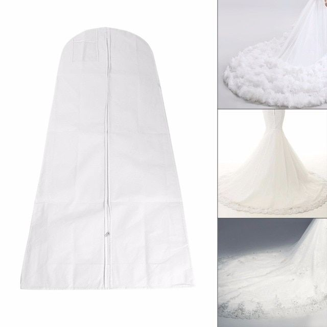 Folding Wedding Dress Dust Cover Bags Clothes Bridal Gown Bag For Wedding Dress Garment Bags Length 160-180cm