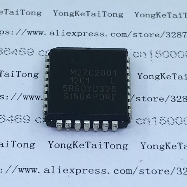 5PCS/LOT IC M27C2001-12C1 M27C2001 27C2001 PLCC32