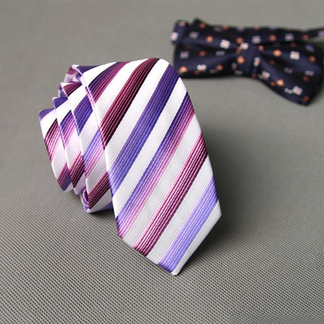Mantieqingway Neck Tie Polyester Skinny Slim Ties Wedding Party Striped & Solid & Dot Business Men Ties Gravata Neckwear for Men