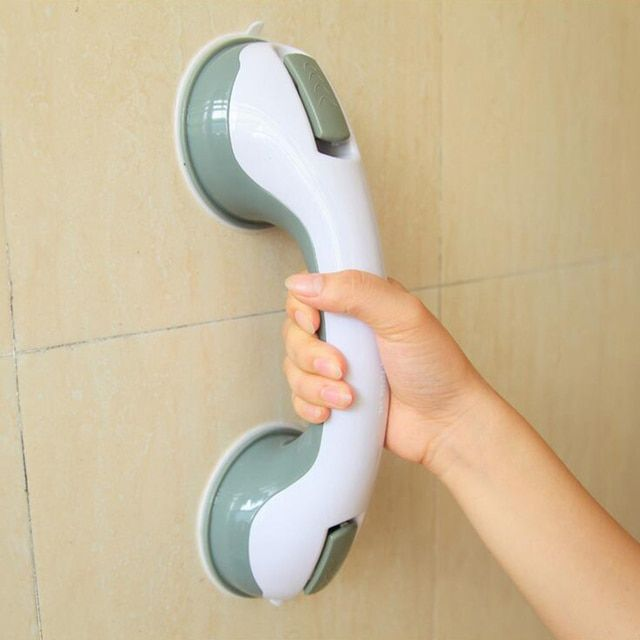 Bathroom Accessories Bathroom Shower Room Tub Super Grip Suction Handle Shower Safety Cup Bar Handrail Grip Keep Balance Tool