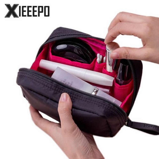 Women Cosmetic Bag Multifunction Zipper Travel Make Up Bag Organizer Holder Professional Makeup Case Pouch Toiletry Kit Bags