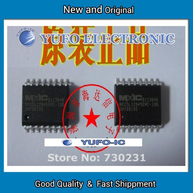 Free Shipping 2PCS   SPI MX25L12845EMI-10G serial 128M flash memory - or non matching electronic components  YF60121