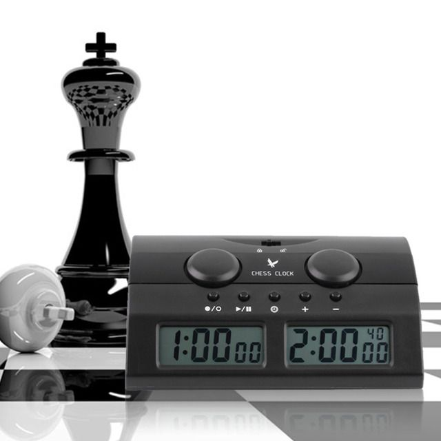 YHX Electronic Board Game Clock Master Tournament Chess Set Handheld  hot free shipping