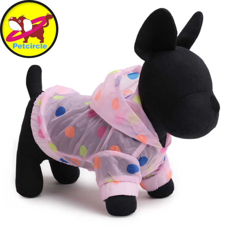 Petcircle New Arrival Dog Clothes Sunscreen Dog Clothes Soft Polyester Dog Raincoats For Chihuahua In Summer Freeshipping
