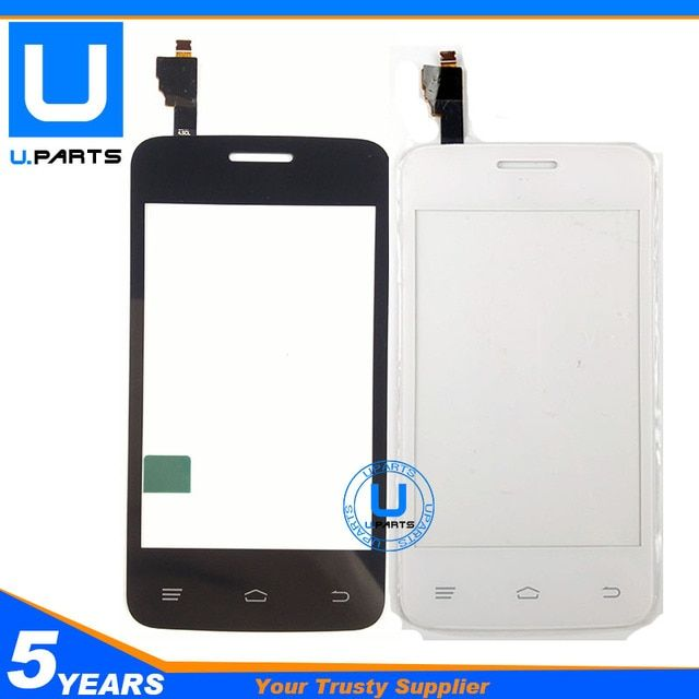Brand New Touch Panel For Fly IQ434 ERA Nano 5 IQ 434 Digitizer Screen Sensor Replacement Black White Color 1PC/Lot