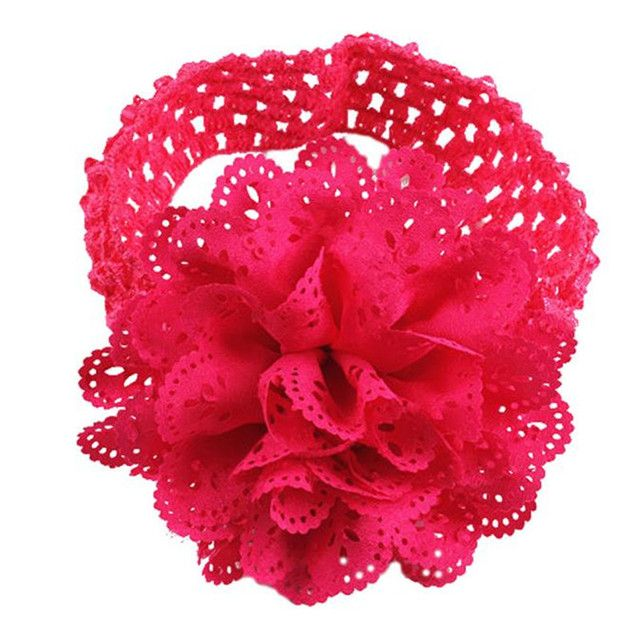 Bandeau Bebe Fille Headbands Baby Girls Hair Accessories Newborn Photography Props Acessorios Bebe Chiffon Flower Faixas Bebe