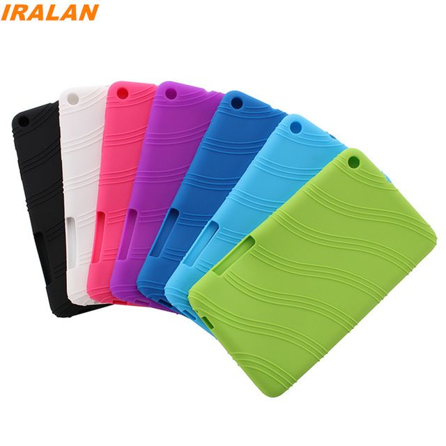 2017 Hot Ultra Slim Soft Silicon Back Cover Case for Huawei MediaPad T1 701u Tablet Case for Huawei T1 7.0 T1-701u free stylus