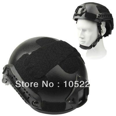 Outdoor Sport Side Cover for Helmet Arc Rail ( Black )