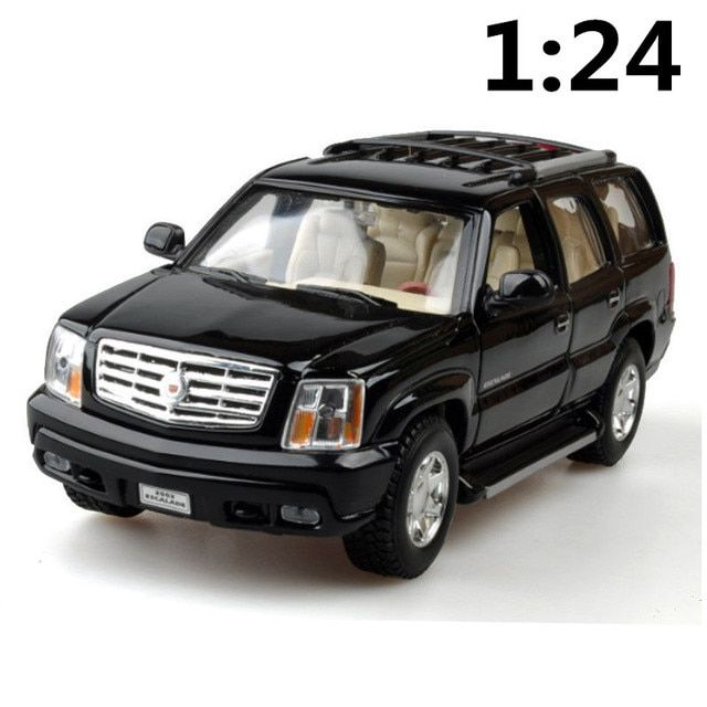 High simulation supercar,1:24 scale alloy 2002 Cadillac Kay Rucker SUV,Collection metal model toys,free shipping
