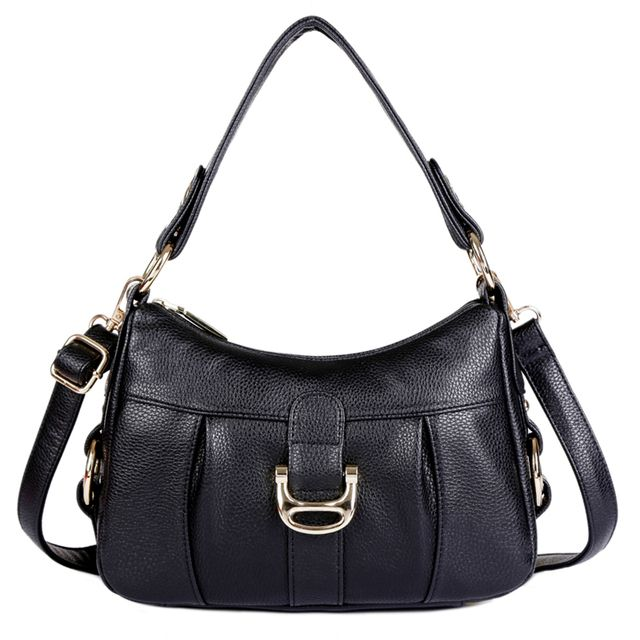 Women's Totes Handbags Genuine Leather Women Shoulder Bags High Capacity Crossbody Totes Female Messenger Bags Bolsas Femininas