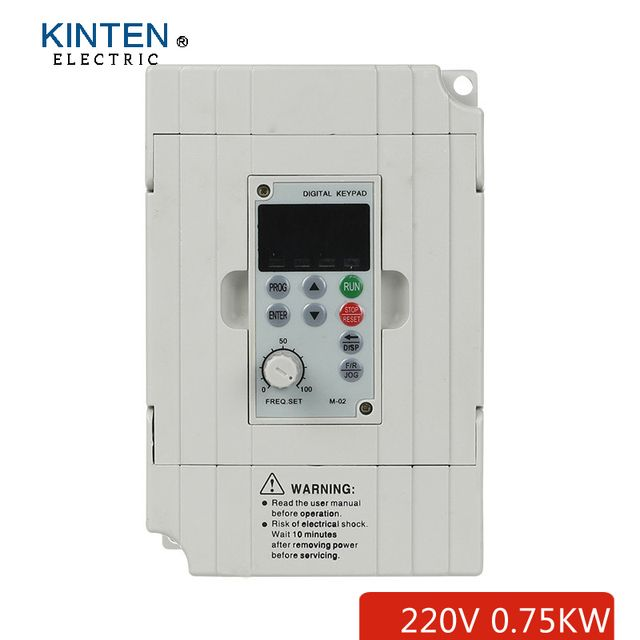 0.75KW 4A 220v single phase input and 220v 3 phase output motor speed controller/ac drives/frequency inverter