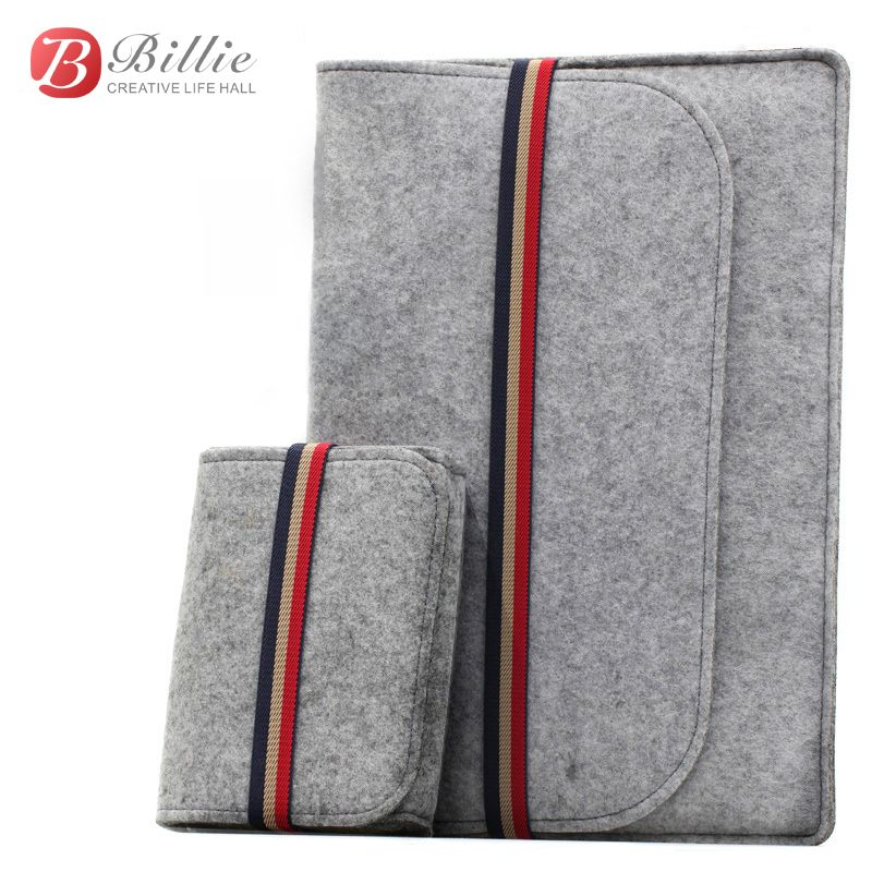 "Newest ! Fashion Laptop Case Cover For Macbook Pro/Air/Retina Notebook Sleeve bag 11""12""13"" Wool Felt Ultrabook Sleeve Pouch Bag"