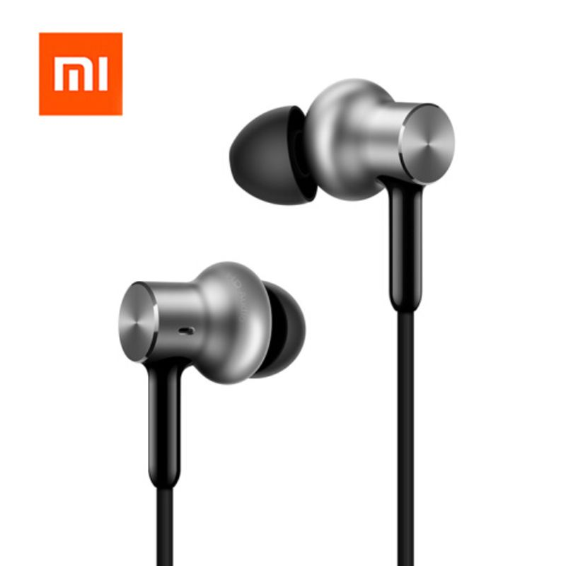 Original Xiaomi Mi In-Ear Hybrid Pro HD Earphone With Mic Noise Cancelling Headset Headphone for Samsung Huawei Redmi Smartphone