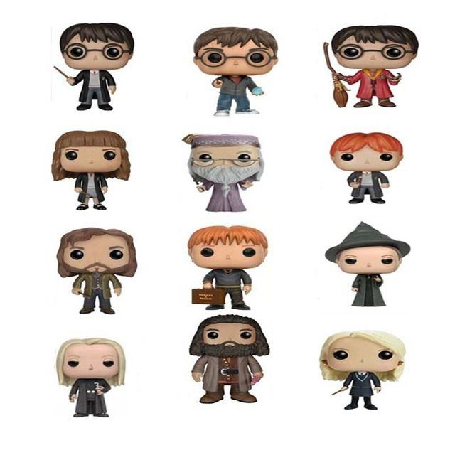 The Harry Potter Dobby Hermione Dumbledore Action Figure Toys For Kids Christmas Gifts no color box