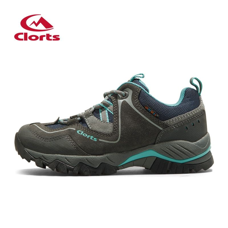 Clorts Woman Hiking Shoes Outdoor Shoes Waterproof Breathable Mountain Shoes Climbing Shoes HKL-826E