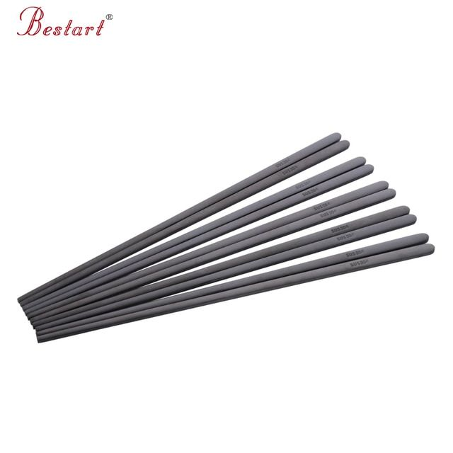 Brand 1lot /10pairs Japanese Chopsticks hashi Black Stainless Steel 18/10(304) Mirror Polish Food Chop Sticks Tableware Tools