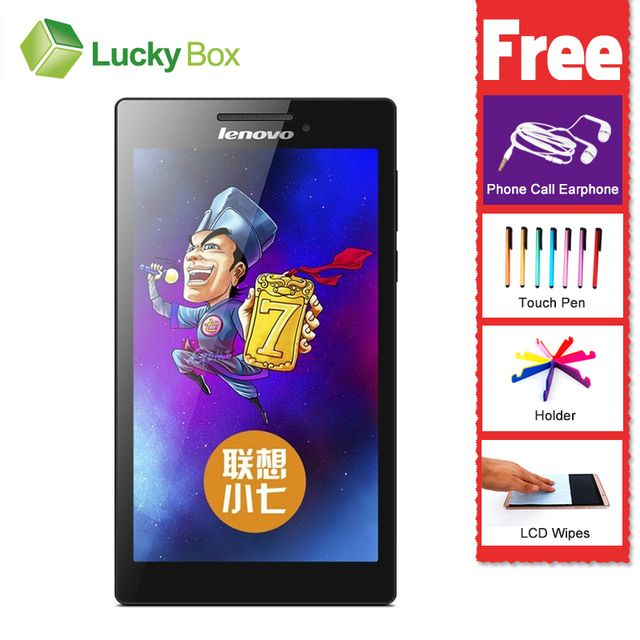 "7"" Tablet pc Lenovo TAB 2 A7-30HC MTK Android 4.4 1GB RAM 16GB ROM 3450mAh 1080P GPS GSM WCDMA Support Multi-language"