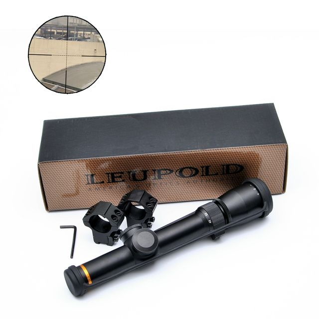 New LEUPOLD 1.5-5X20 Optics Riflescope Hunting Scopes Mil-dot Illuminated Tactical Scopes Riflescope For Airsoft Air Rifles