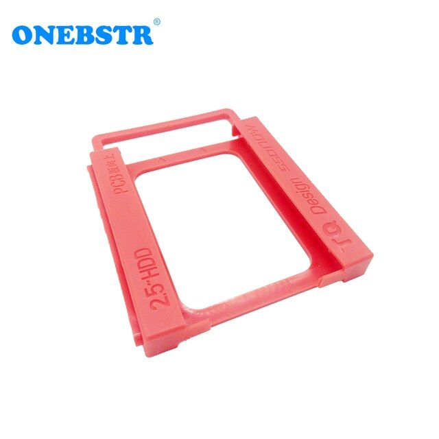 "2.5"" SSD Hard Drive To 3.5"" Bay HDD Mounting Plastic Bracket Dock Tray Adapter Screw-free Installation Easy"