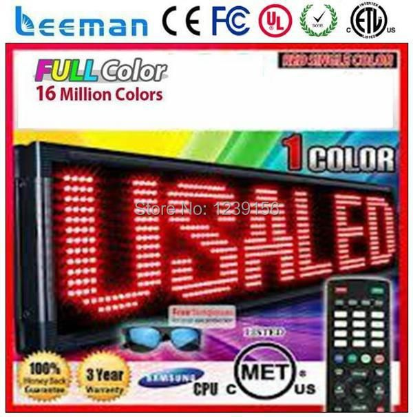 Leeman 12v led car message moving scrolling sign display p8 xxx video china led moving message display led