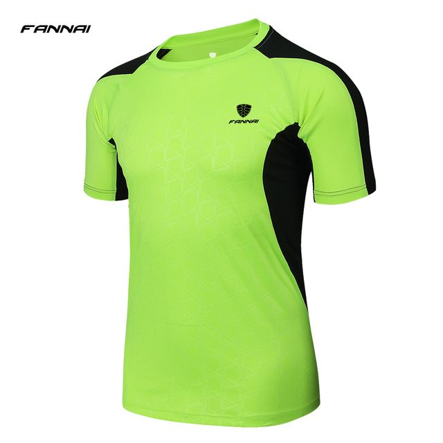 FANNAI Brand Hot Sale Crossfit T Shirts Men T-Shirt Tops Tees Swag Quick Dry Short Sleeve O-Neck Singlets clothing wholesale