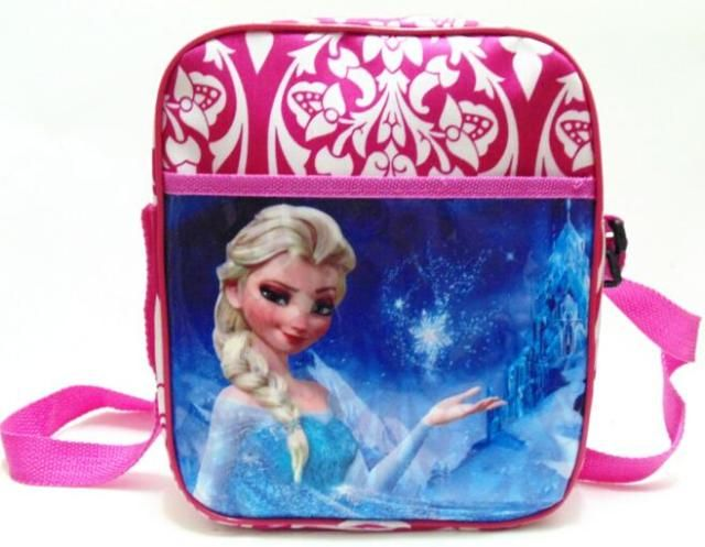 New Snow Queen anna elsa cute cartoon bags and school bag Snow Queen doll bag