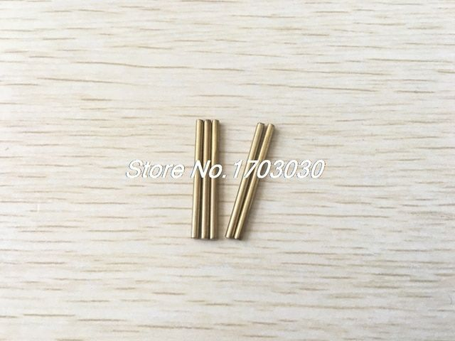 20 Pcs Car Model Toy DIY Brass Rod Axles Drill Rod Bar 2mm x 30mm