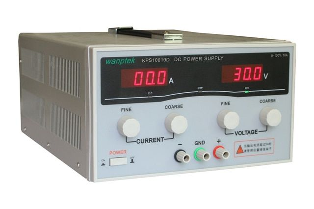 KPS10010D 100V 10A High precision High Power Adjustable LED Dual Display Switching DC power supply 220V EU
